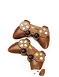 Set of Two Chocolate Game Controllers