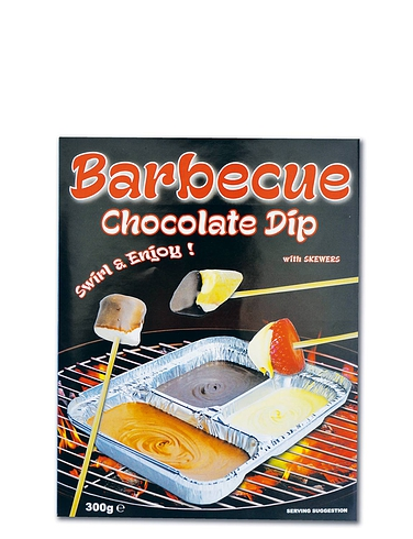 Barbecue Chocolate Dip Set