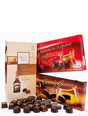 Luxury Whisky Continental Chocolate Selection