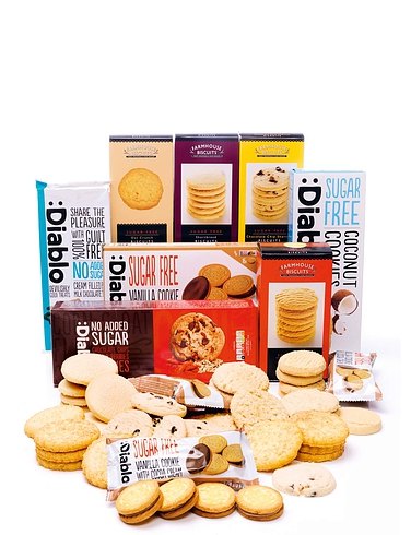 Low Sugar Luxury Biscuit Selection