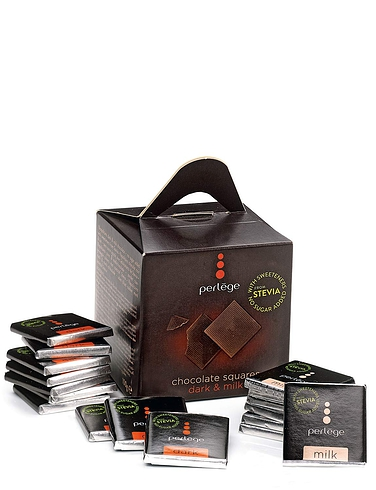 Perlege Milk and Dark Chocolate Neapolitans 100g