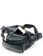 Real Leather Bum Bag