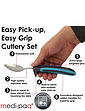 Comfort Grip Cutlery Set