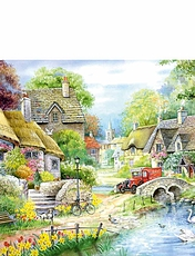 River Cottage Extra Large 250 Piece Puzzle