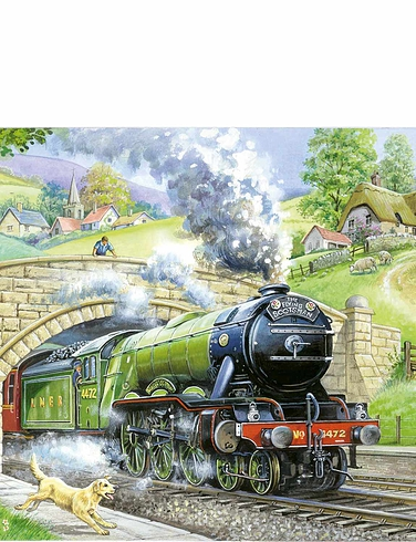 Train Spotting Extra Large 250 Piece Puzzle