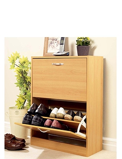 2 Drawer Shoe Cabinet