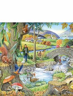 Riverside Walk Jigsaw