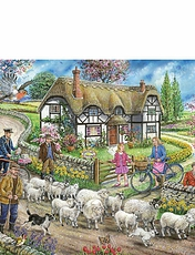 Daffodil Cottage Jigsaw