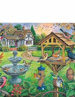 Bird Table XL Jigsaw