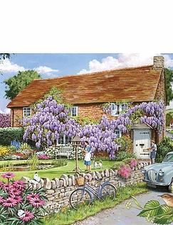 Wisteria Cottage XL Jigsaw