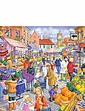 Market Day Extra Large 250 Piece Puzzle