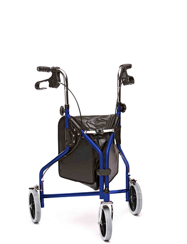 Standard Steel Tri Wheel Walker