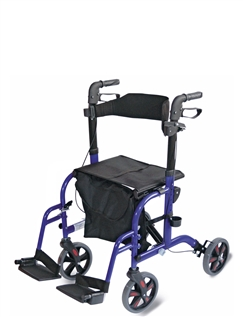 2 in 1 Rollator/Walker