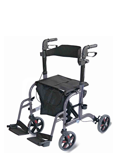 2-In-1 Rollator/Walker