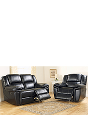 Chelsea Three Seater Settee Plus One Chair Suite