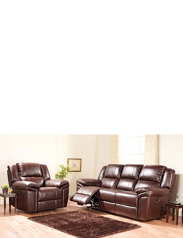 Chelsea Three Seater Settee plus 3 x Chair suite