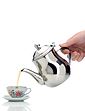 Two Cup No Drip Stainless Steel Teapot