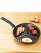 3-in-1 Breakfast Pan With Detachable Handle