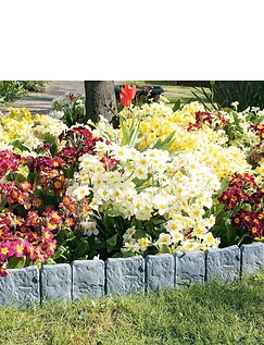 Stone Effect Edging Pack of 30