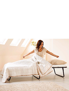 Single Folding Bed with Memory Foam Mattress