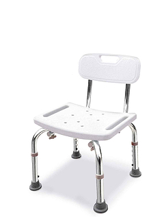 Sturdy Shower/Bath seat with Back Rest