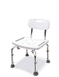 Sturdy Shower and Bath Seat with Backrest