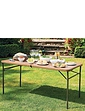 Wood Effect Fold Away Table