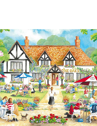 Summer Evening at the Pub Box Set Jigsaw Puzzles