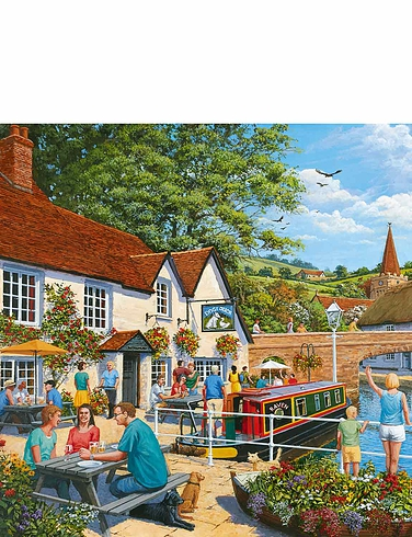 Waterside Tavern Jigsaw Puzzle