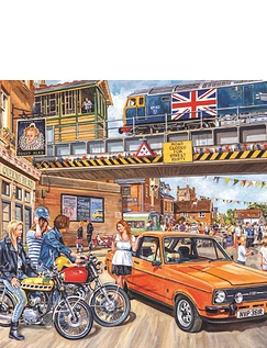 Spirit of The Seventies Jigsaw