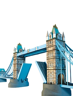 Tower Bridge -Build IT 3D Puzzels