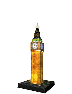 Big Ben At Night -Build IT 3D Puzzels