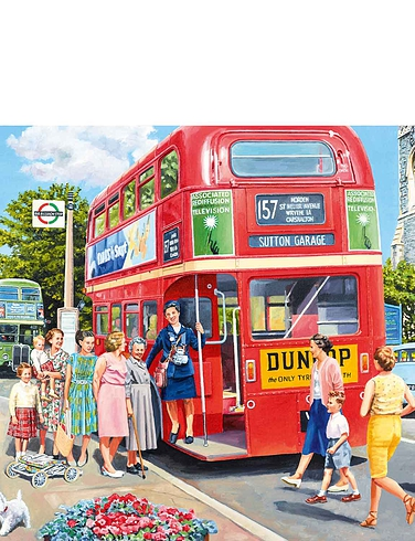 Catch The Bus Jigsaw
