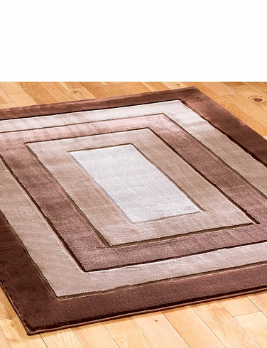 3D Rectangular Effect Rug