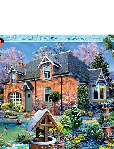 Snowdrop Cottage - Jigsaw