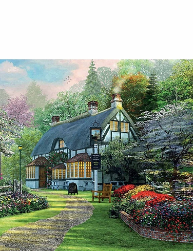 The Cottage Pub 1000pc Jigsaw