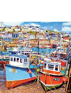 Mevagissy Harbour 500xlpcs Jigsaw