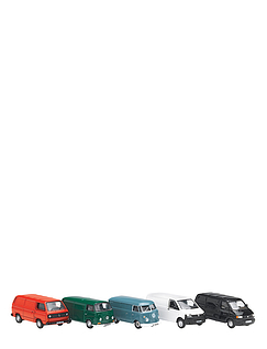 Set of VW Vans