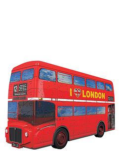 Snap-Fit 3D Puzzle -  London Bus