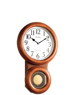 Rhythm Pendulum Wall Clock
