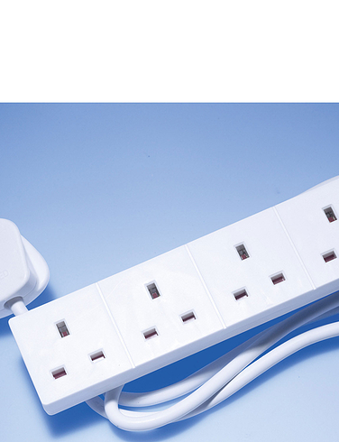 4 way Extension Socket with Surge Protection
