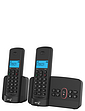 Twin BT Cordless Telephones With Answering Machine