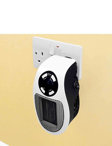 Powerful Mini Cyclone Ceramic Heater