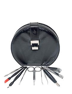 Leather-Effect Manicure Set