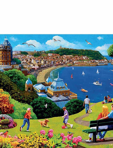 Ravensburger Happy Days Box Set of Four 500 Piece Jigsaws