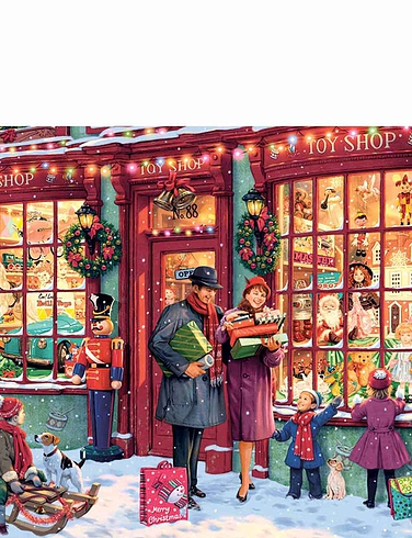 Christmas Toy Shop 1000pc Jigsaw Puzzle