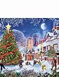 Village Christmas Tree 1000pc Jigsaw Puzzle
