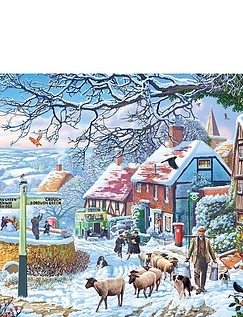 A Winter Stroll 1000pc Jigsaw Puzzle