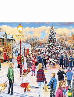 Christmas Chorus 1000pc Jigsaw Puzzle