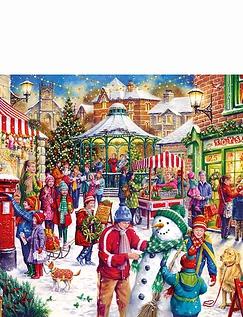 Secret Santa Limited Edition 1000pc Jigsaw Puzzle